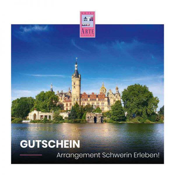 Gutschein Schwerin erleben-Arrangement 1 Hotel ARTE Schwerin