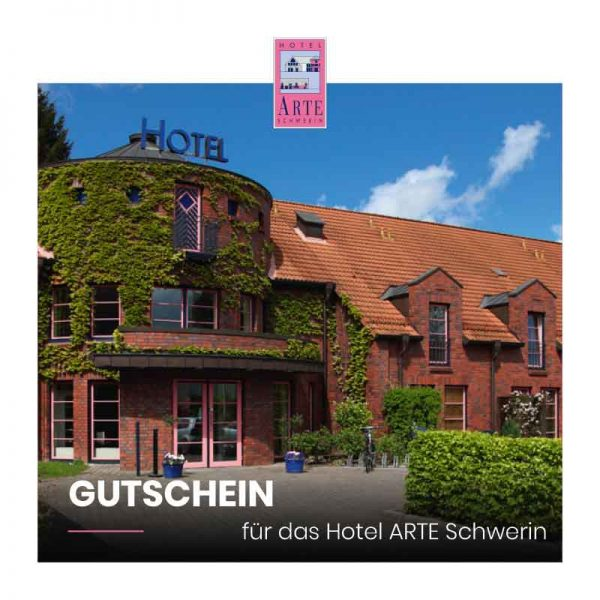 Wertgutschein 1 Hotel ARTE Schwerin